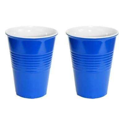 20 oz. Blue Hard Plastic Cup (2-Pack)