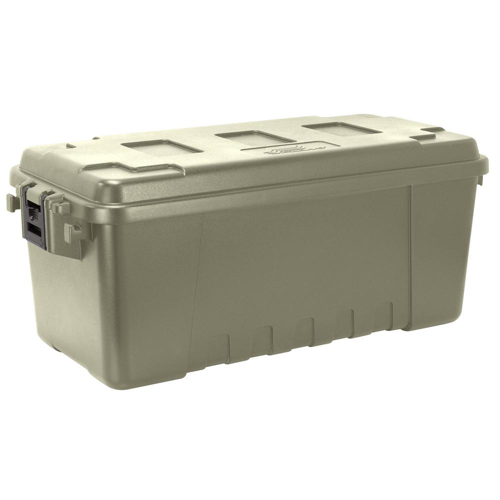 Plano 68 qt. Sportsman Trunk Olive Green