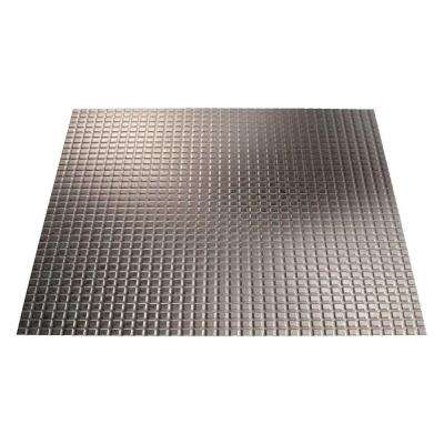Square - 2 ft. x 2 ft. Lay-in Ceiling Tile in Galvanized Steel