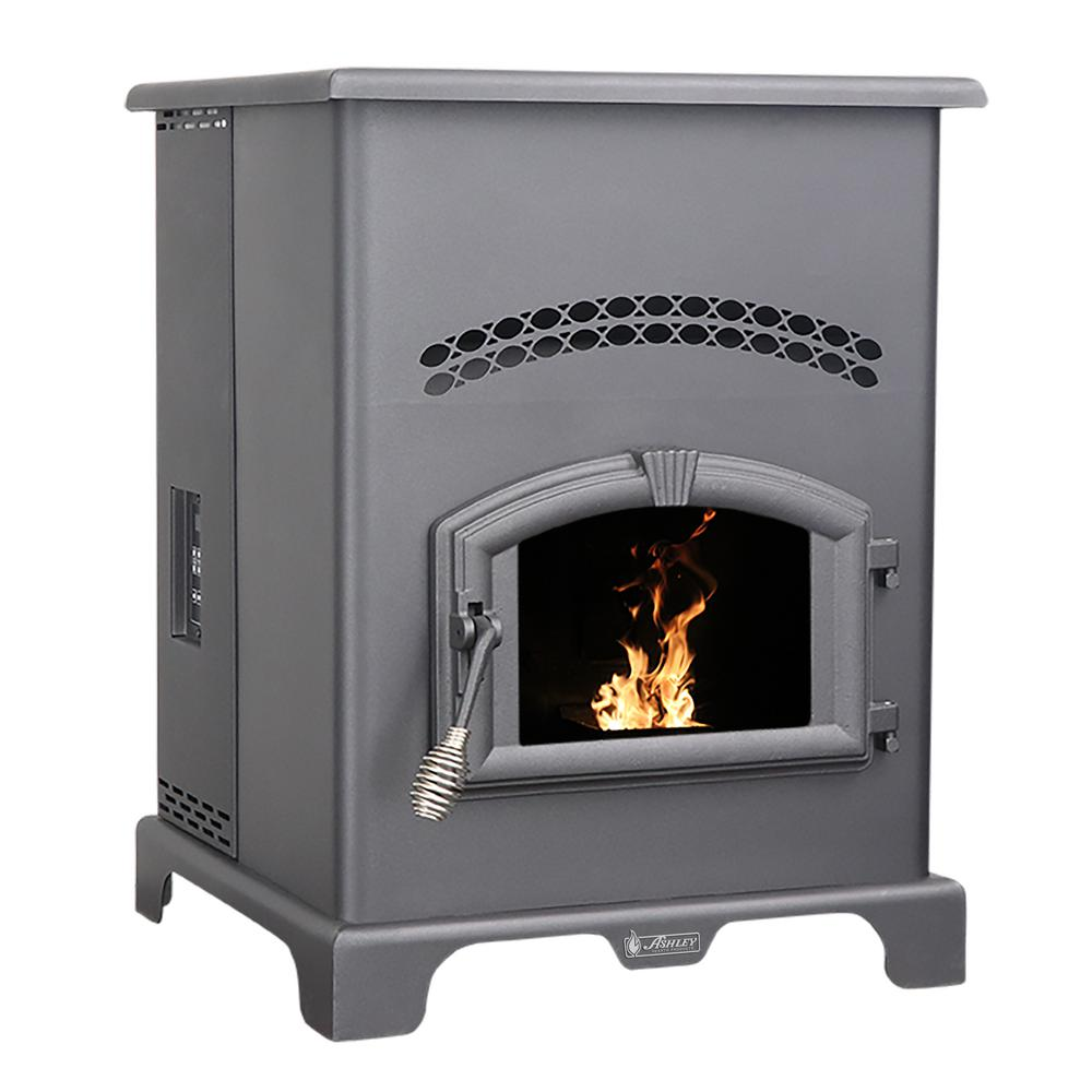 Ashley Hearth Products 2,500 sq. ft. EPA Certified Pellet Stove with 130 lbs. Hopper