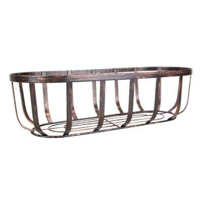 Oil-Rubbed Bronze Steel Bread Basket