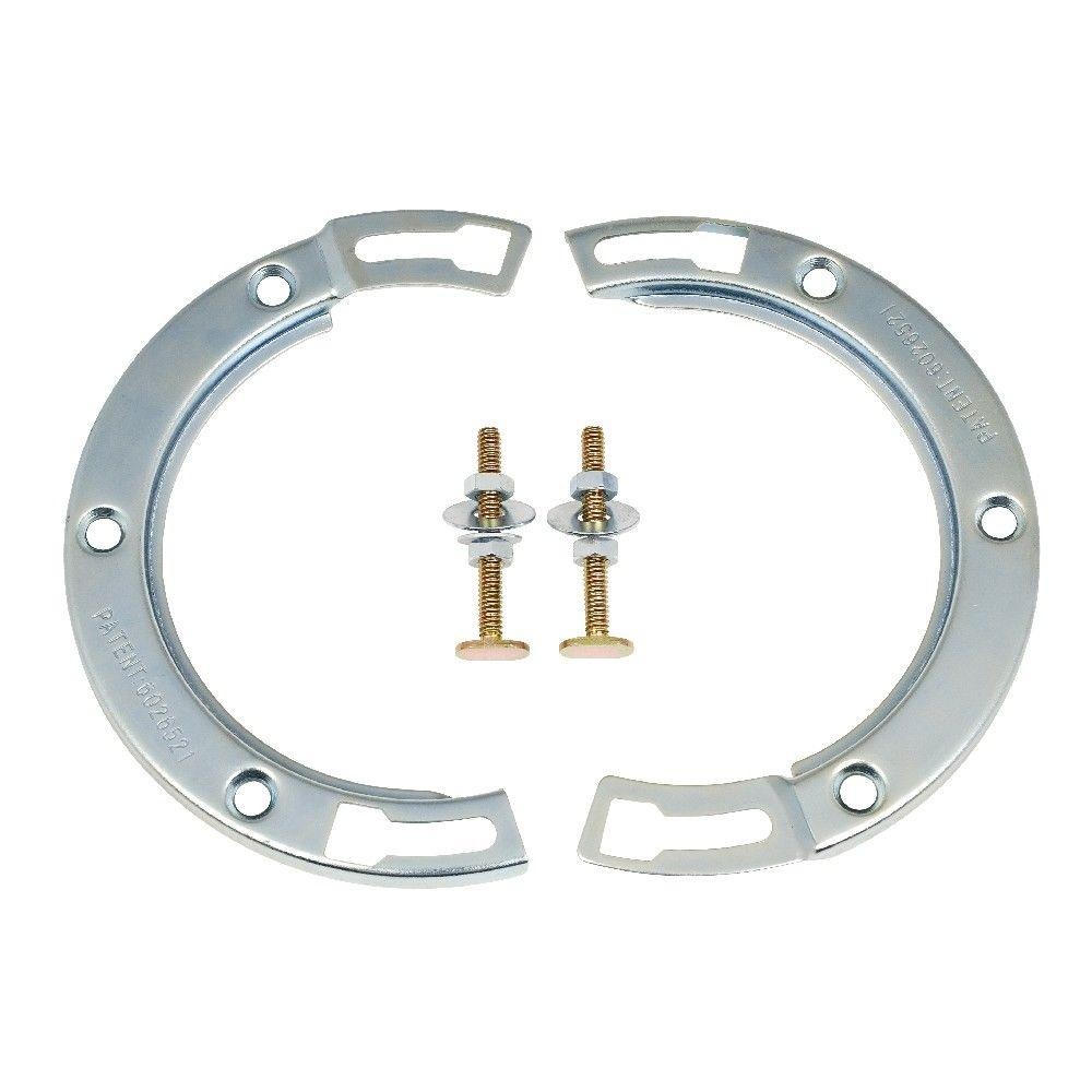 Sioux Chief 7 in. Galvanized Steel Toilet Flange Repair Kit