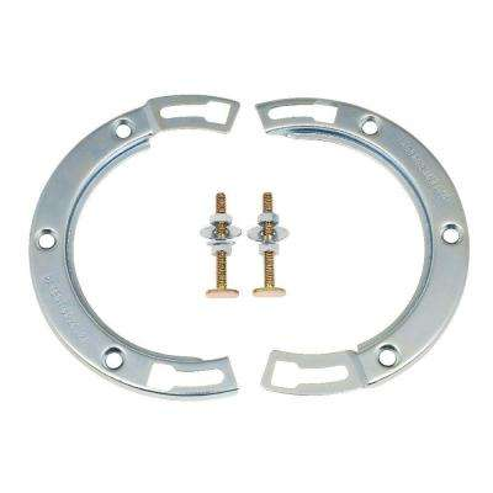 7 in. Galvanized Steel Toilet Flange Repair Kit