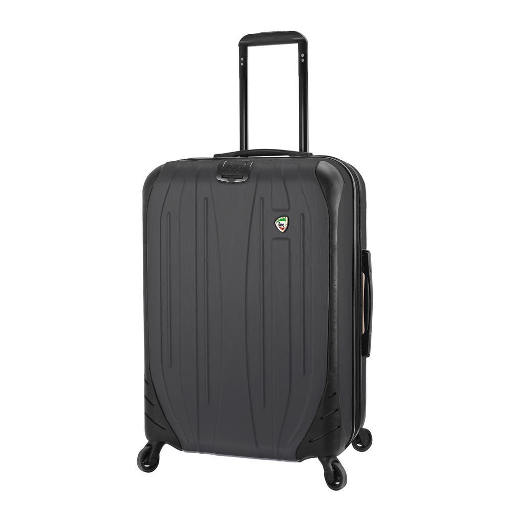 Compaz 28 in. Black Hardside Spinner Suitcase
