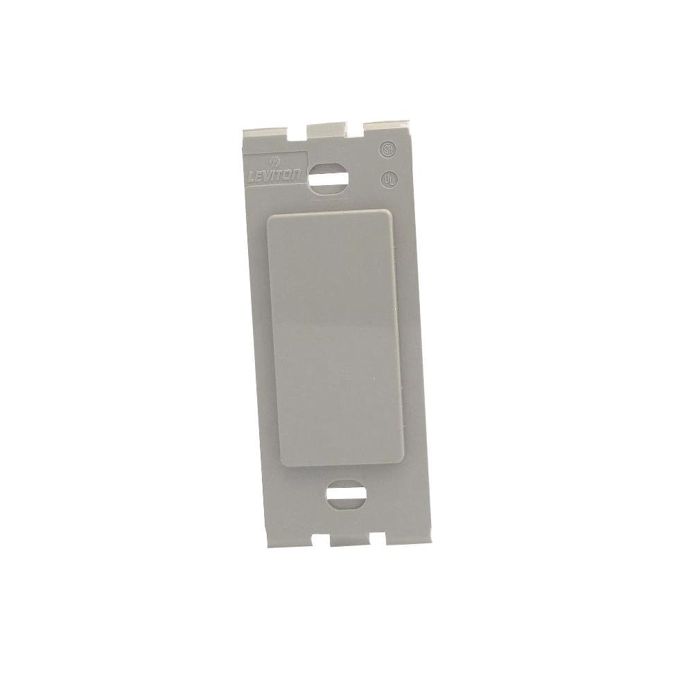 Decora Plus Plastic Adapter, Gray