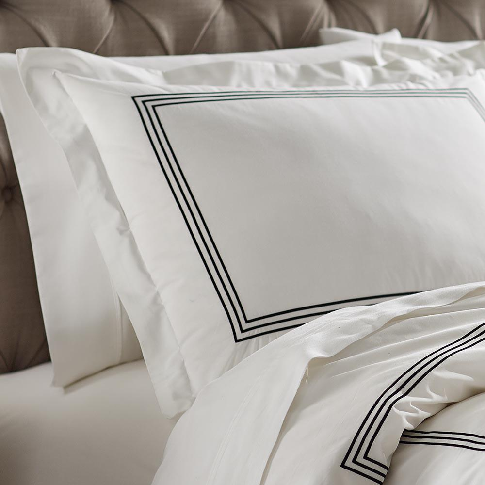 Monaco Black King Sham Set (2-Pack)