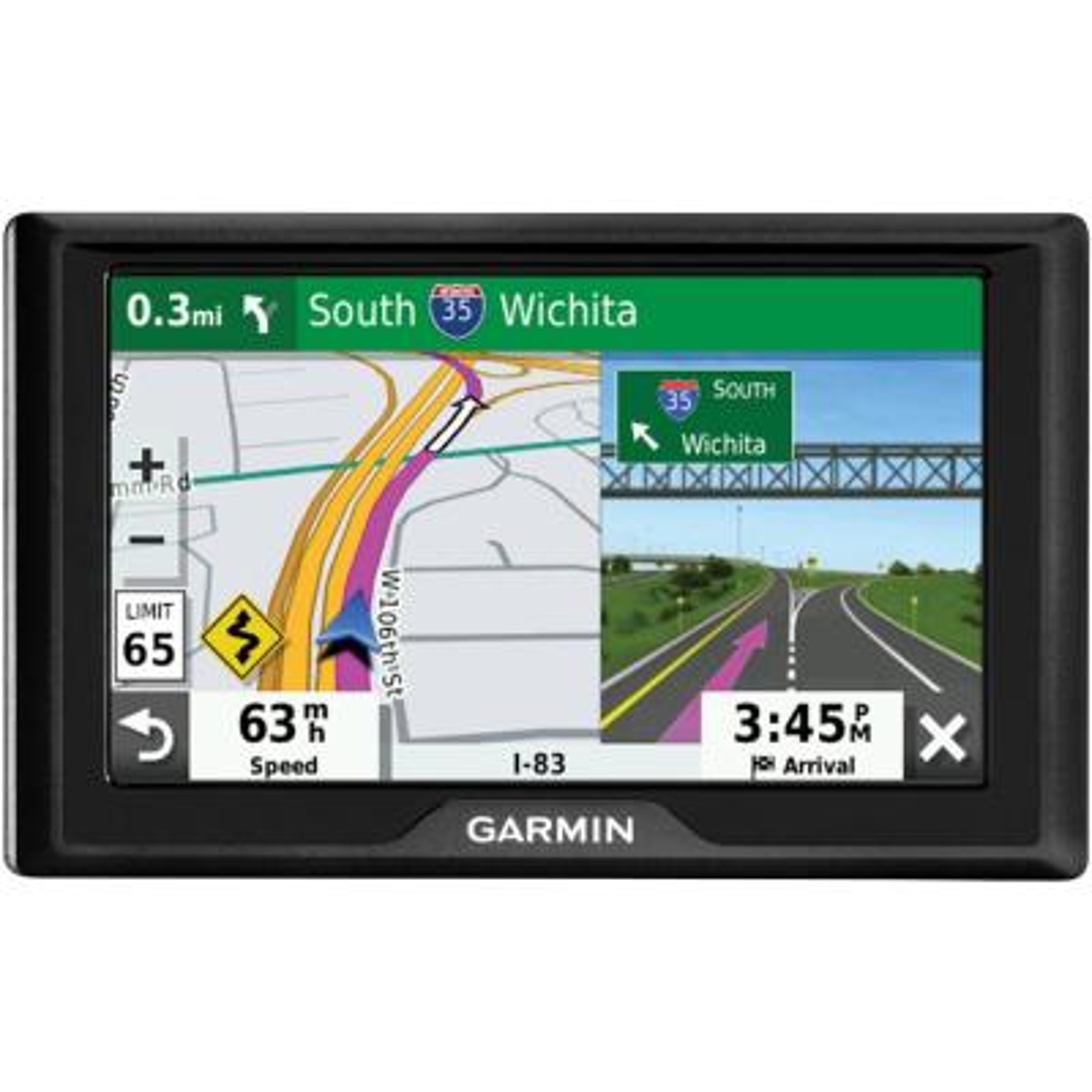 Garmin Drive 51 GPS Navigator with Driver Alerts-010-01678 ...