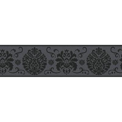 Campbell Scroll Peel and Stick Wallpaper Border
