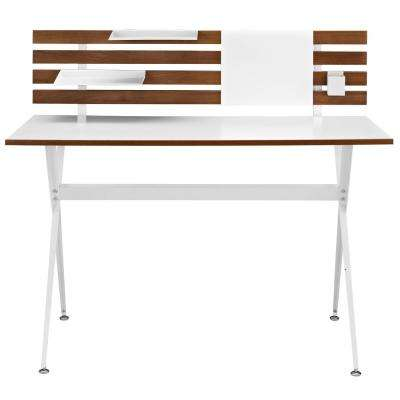 Knack Cherry Wood Office Desk