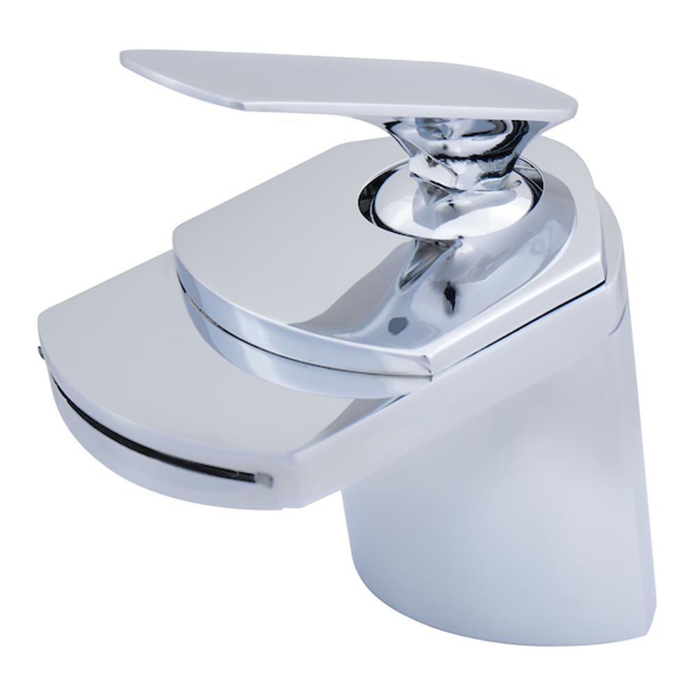 Novatto Wave Single Hole Single Handle Lavatory Bathroom Faucet