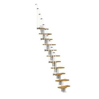 Nice2 White 22 in. Modular Staircase Kit