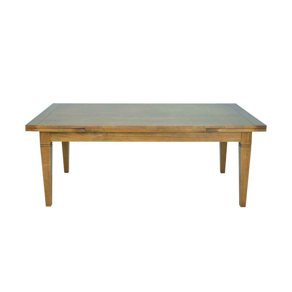 Artefama Furniture Manhattan Honey Brown Extendable Dining Table