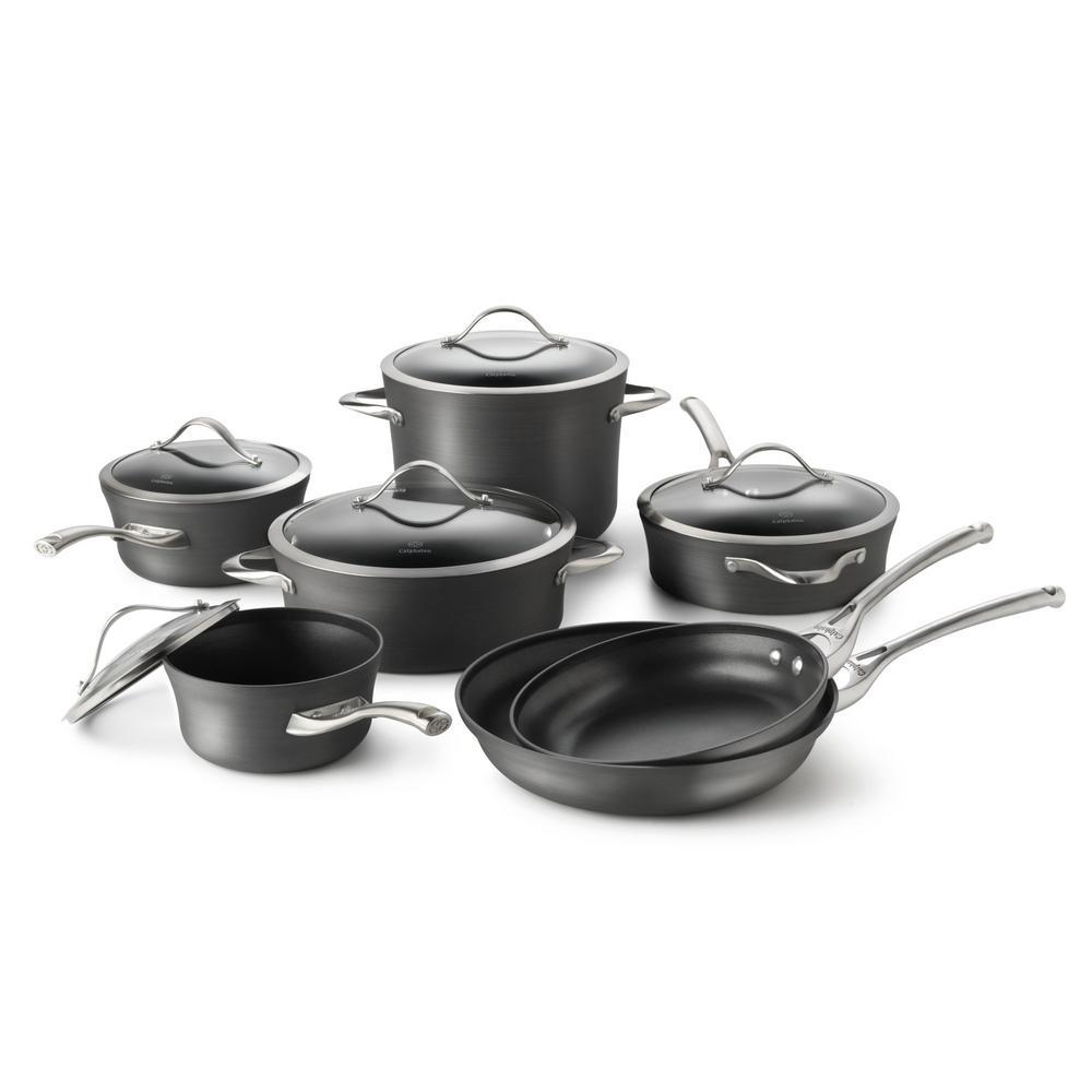 Calphalon Contemporary 12-Piece Nonstick Cookware Set by Calphalon