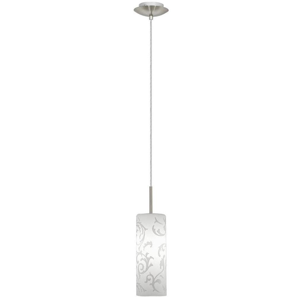 Amadora 1-Light Matte Nickel Hanging/Ceiling Pendant