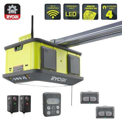 Quiet Compact 1-1/4 HP Belt Garage Door Opener