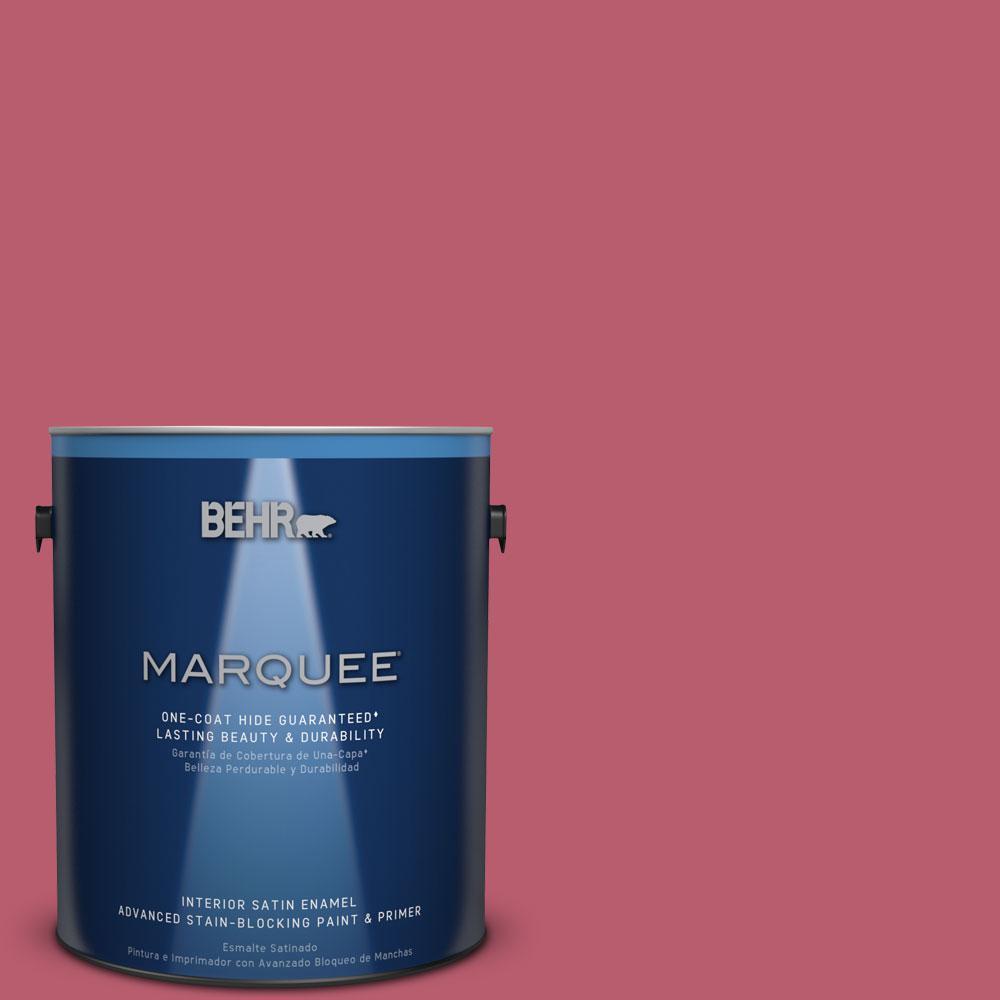 1 gal. #MQ1-6 Sensuous One-Coat Hide Satin Enamel Interior Paint