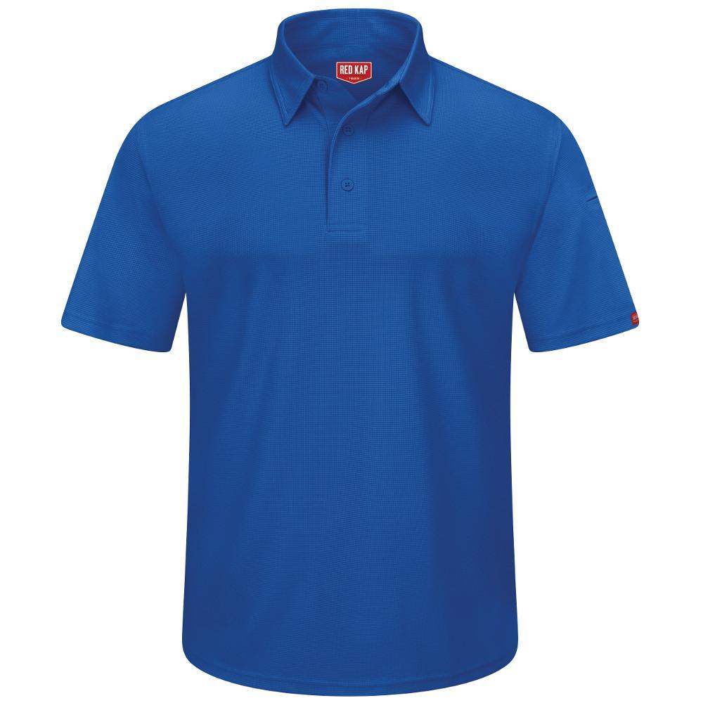 Men's Size 4XL Royal Blue Professional Polo