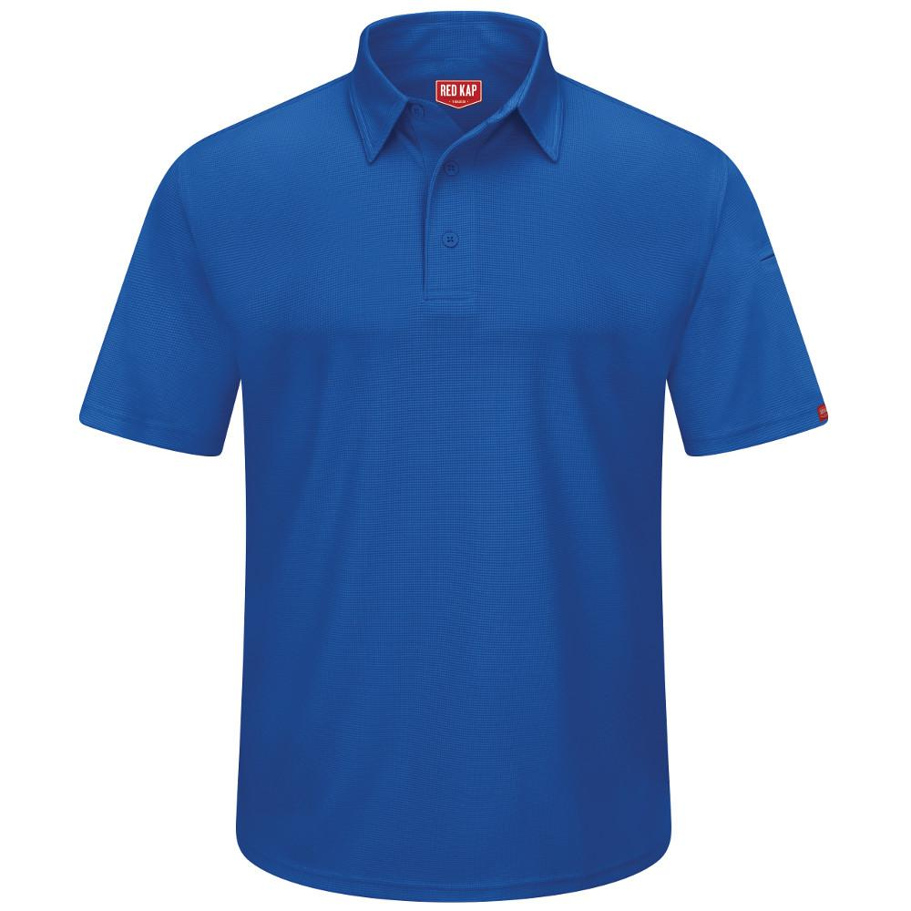 Red Kap Mens Size 4xl Royal Blue Professional Polo Sk90rb Ss 4xl