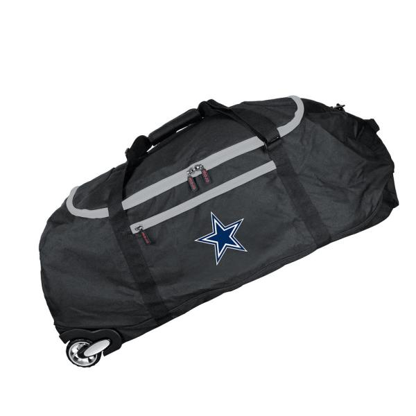 Denco NFL Dallas Cowboys 36 in. Checked-in Rolling Duffel NFDCL801