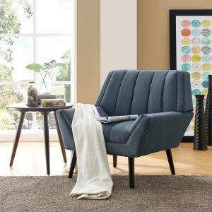 Incredible Handy Living Houston Caribbean Blue Plush Low Pile Velvet Squirreltailoven Fun Painted Chair Ideas Images Squirreltailovenorg