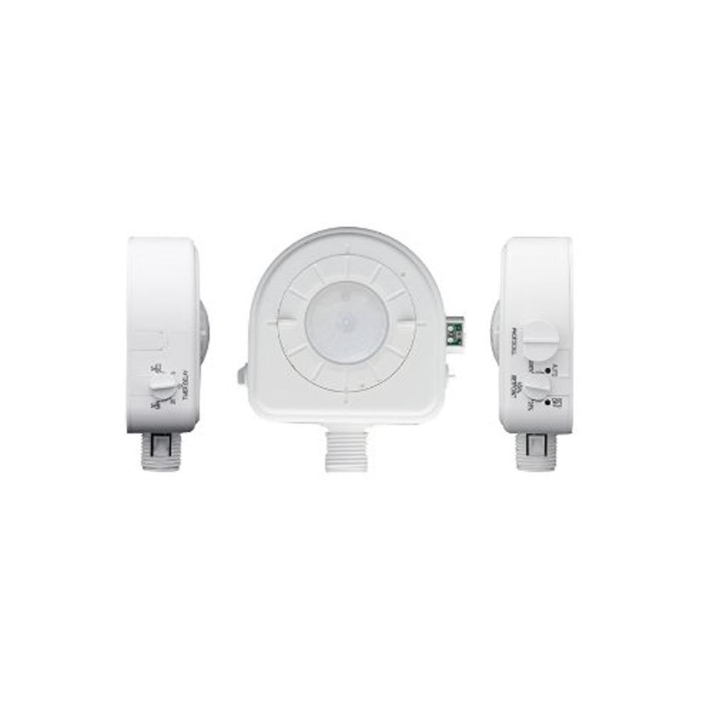 480-Volt, 45mA Passive Infrared Fixture Mount High Bay Occupancy Sensor with