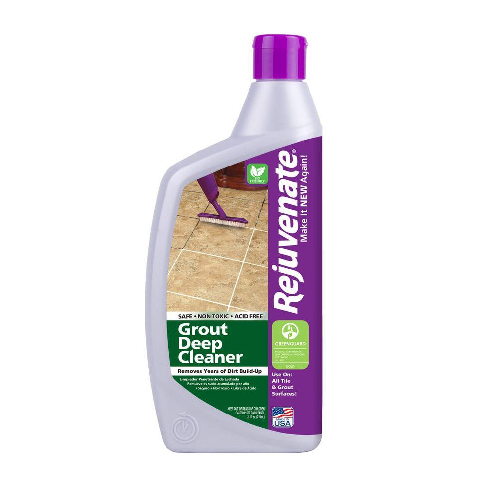 Rejuvenate 24 oz bio enzymatic tile and grout deep for Grout cleaner