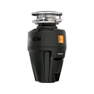Host Series 3/4 HP Continuous Feed Space Saving Garbage Disposal with Sound Reduction and Universal Mount