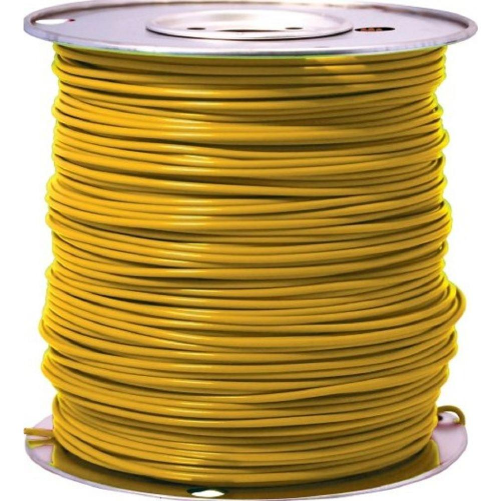 1000 ft. 14 Yellow Stranded CU GPT Primary Auto Wire