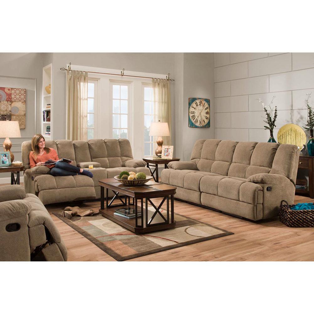 Cambridge Penn 2 Piece Cocoa Brown Sofa And Loveseat Living Room  ~ Brown Sofa And Loveseat Sets