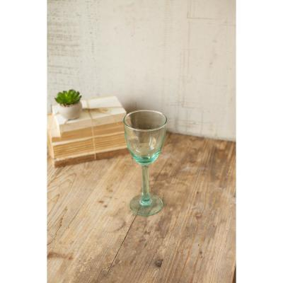 8 oz. Hand-Blown Recycled Wine Glass (Set of 6)