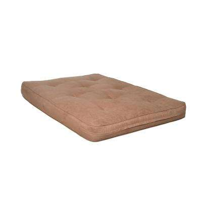 Avery Lavish Chocolate 8 in. Full Futon Mattress