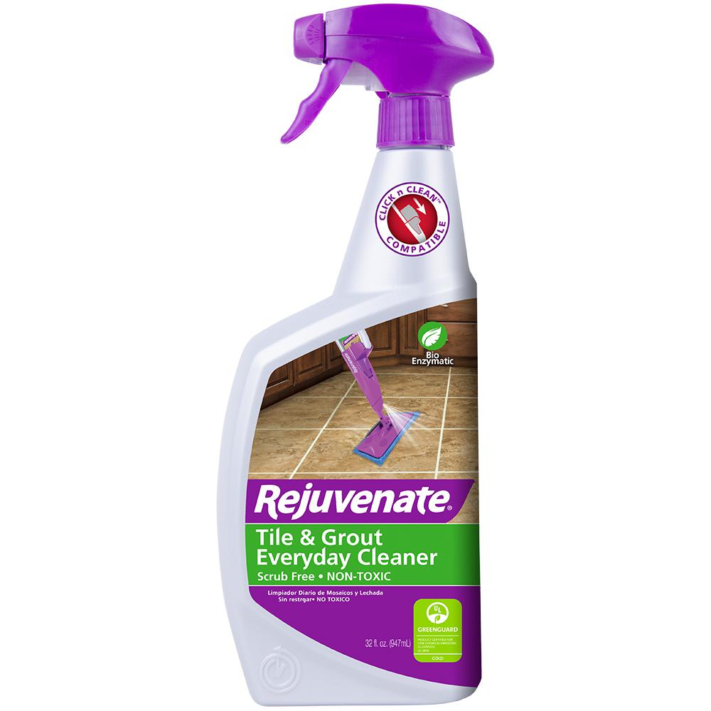 Rejuvenate 32 Oz Bio Enzymatic Tile And Grout Cleaner Rj24bc