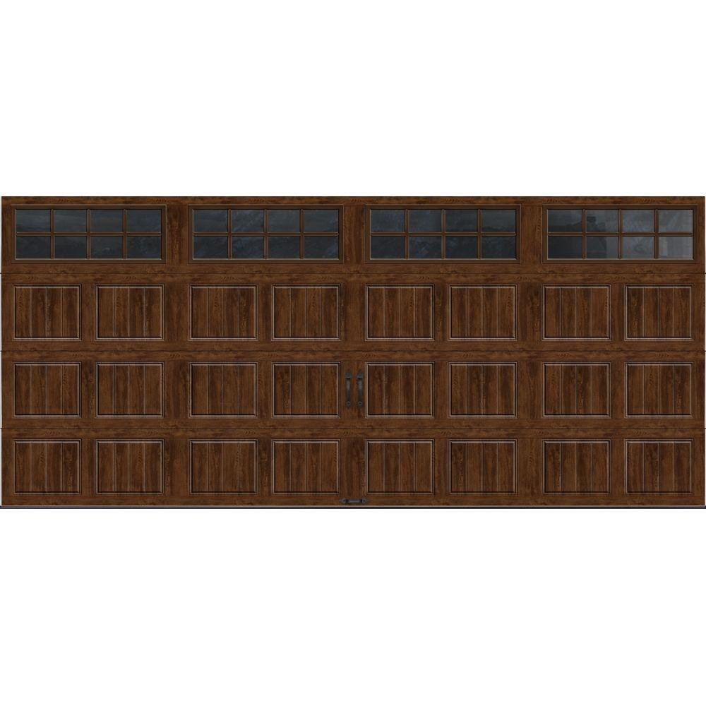 Clopay gallery collection 16 ft x 7 ft 18 4 r value for Buy clopay garage doors online