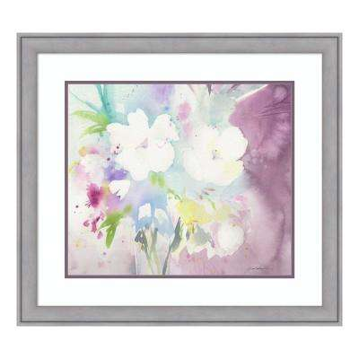 """Serenity"" by Sheila Golden Framed Wall Art"