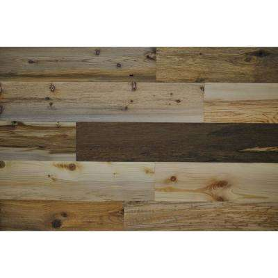 River Planks 5 in. Peel and Stick Wall Applique Panels (20 sq. ft./Box)