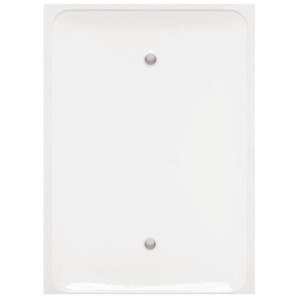 Mulberry Princess 1 Gang Maxi Blank Wall Plate 76751 The Home Depot