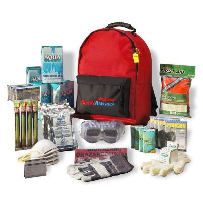 4-Person 3-Day Basic Emergency Kit with Backpack