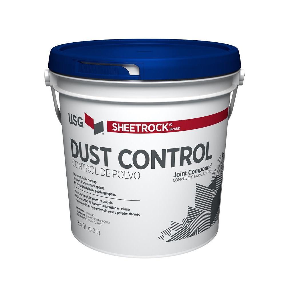 Dust Control Compound : Sheetrock brand qt pre mixed joint compound
