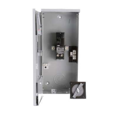 150 Amp 2-Space 2-Circuit Main Breaker Outdoor Small Load Center Enclosures Type EQ
