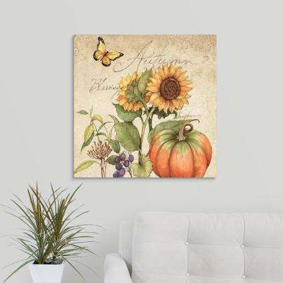 """Autumn Blessings"" by Susan Winget Canvas Wall Art"