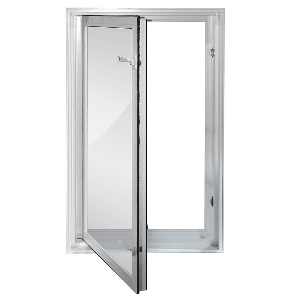 Wellcraft 27 In. X 45 In. Egress In Swing Low E Vinyl