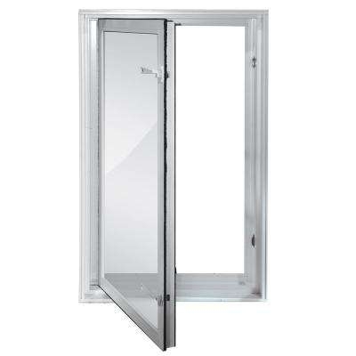 27 In X 45 Egress Swing Low E Vinyl Window