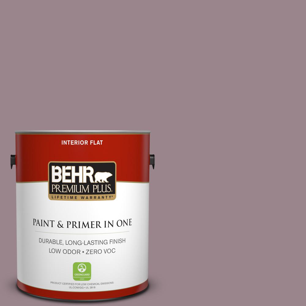 1 gal. #PPU17-14 Dream Sunset Zero VOC Flat Interior Paint