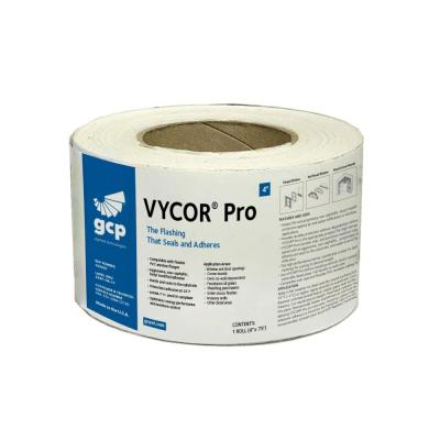 Vycor Pro 4 in. x 75 ft. Roll Fully-Adhered Butyl Flashing Tape (25 sq. ft.)