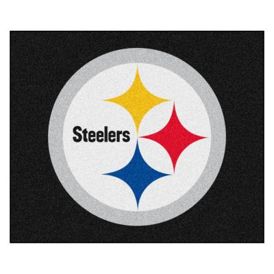 NFL 6 ft. x 5 ft.Pittsburgh Steelers Rug