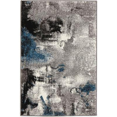 Journey Gray 3 ft. x 5 ft. Area Rug