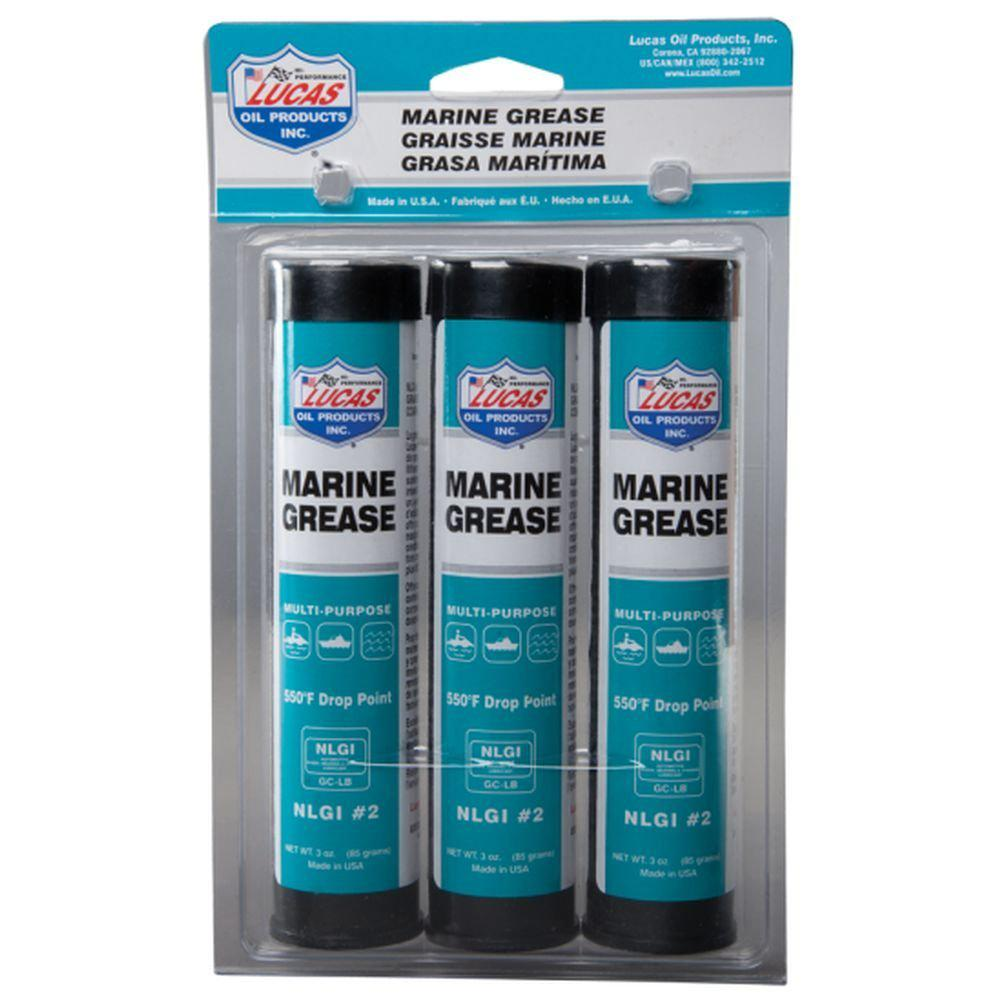 Lucas Oil 3 oz  Marine Grease (3-Pack)-10682 - The Home Depot