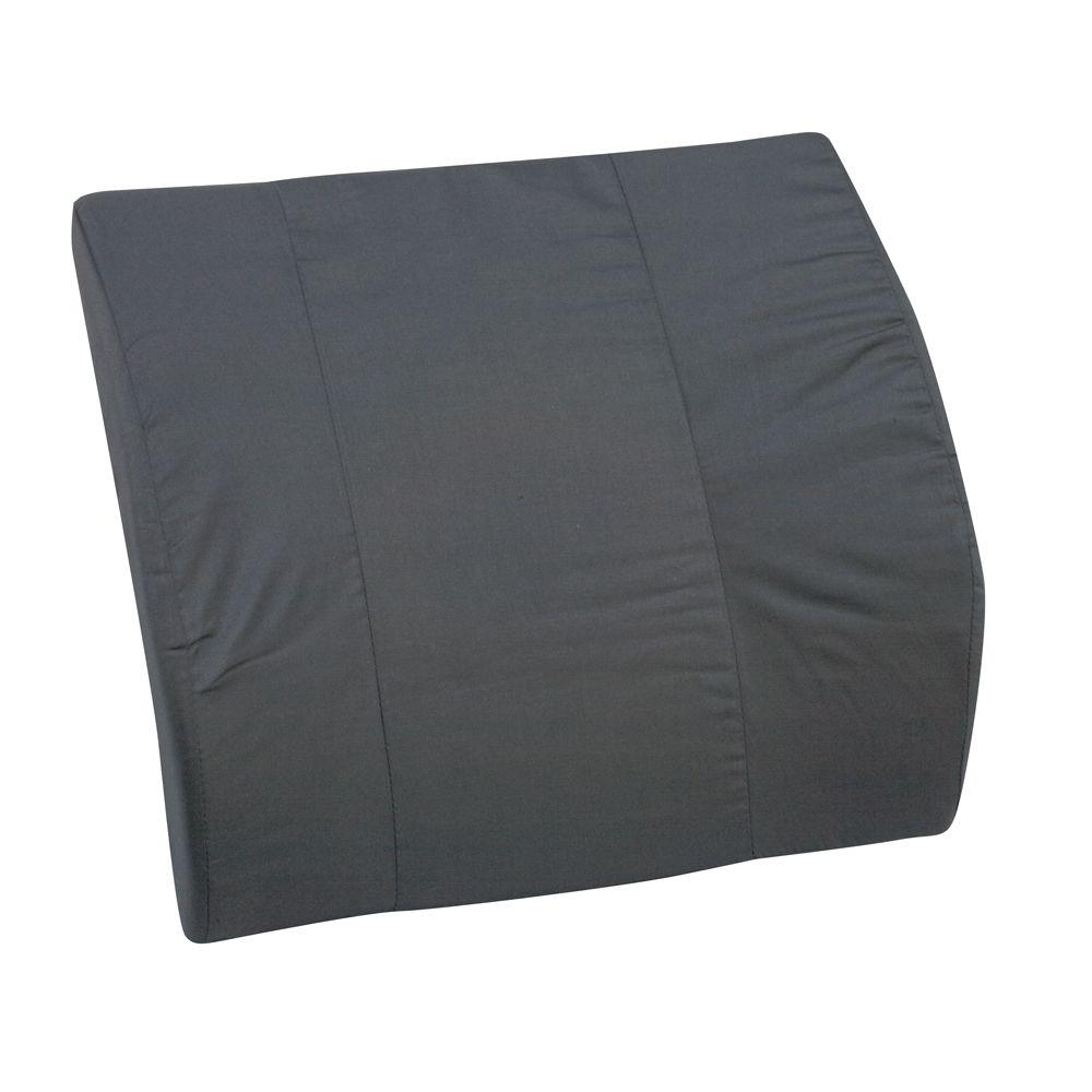 Bucket Seat Lumbar Cushion without Strap in Black