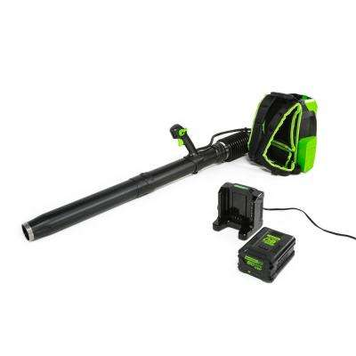 PRO 140 MPH 540 CFM 60-Volt Lithium-Ion Cordless Backpack Leaf Blower with 5.0 Ah Battery and Charger