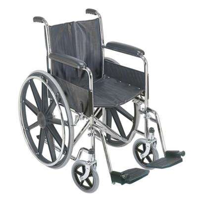 Manual Wheelchair With Fixed Arm Rests